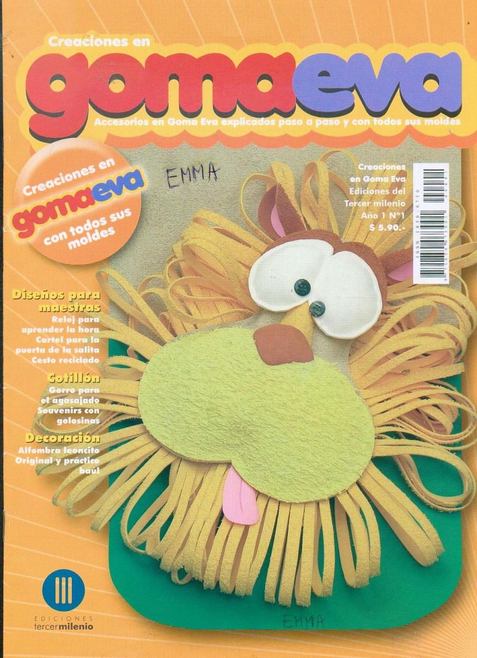 Creaciones en Goma Eva 01 2008 (поделки)