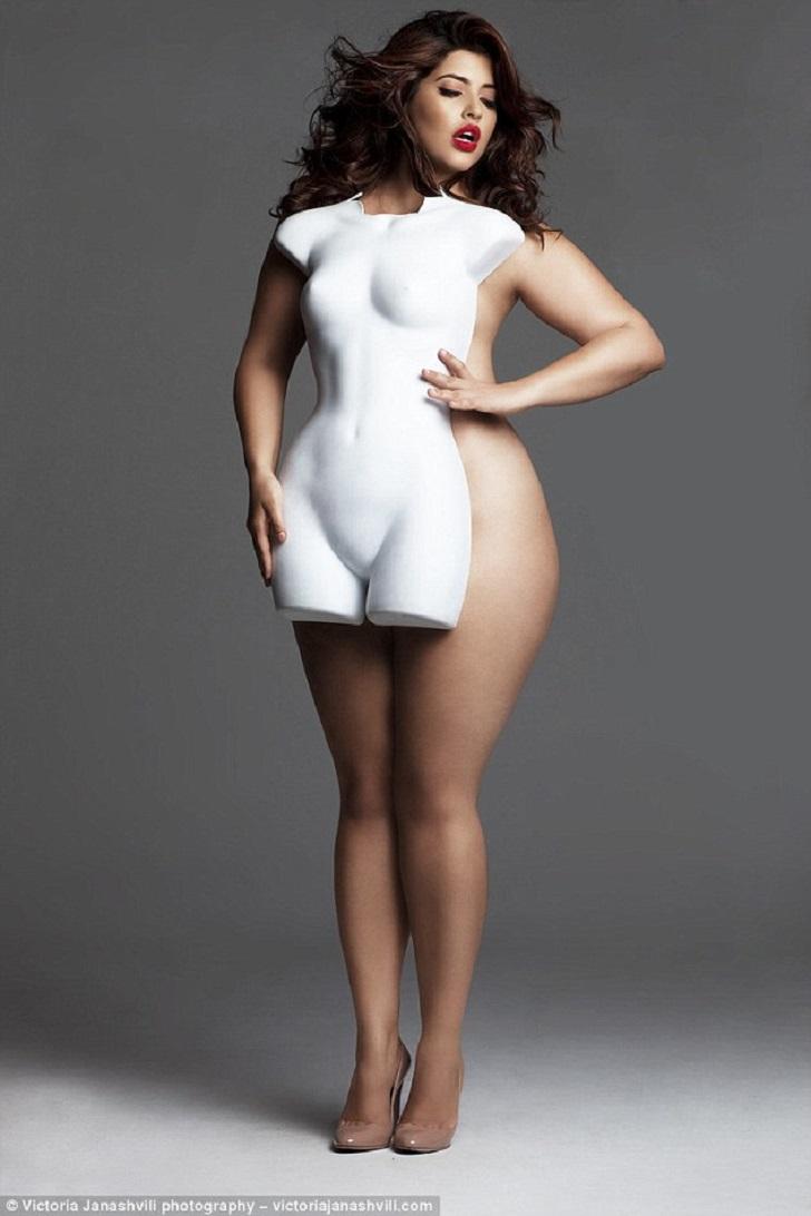 Пышное тело женщины 7 фотография