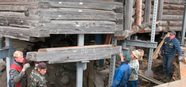 Сколько стоит усиление стен деревяный дом