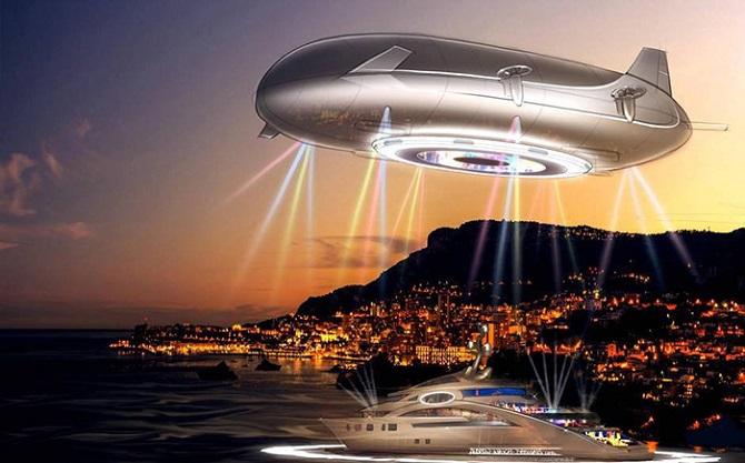 Роскошное воздушное судно бу…