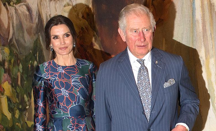 Королева Летиция встретилась с принцем Чарльзом в Лондоне