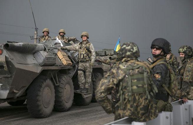 Украинские силовики замерзают без теплых штанов