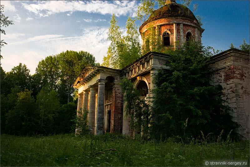 Удивительная усадьба в Елпатьево