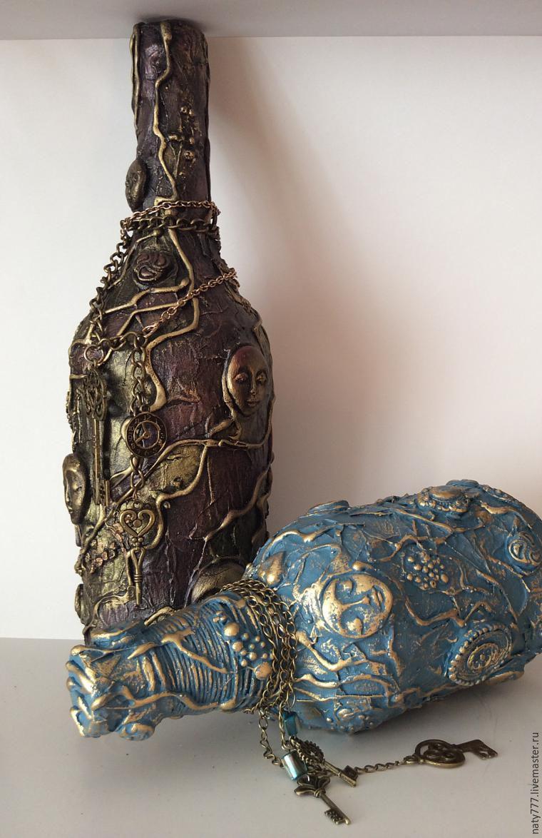 Превращаем обычную бутылку в креативный предмет для декора интерьера