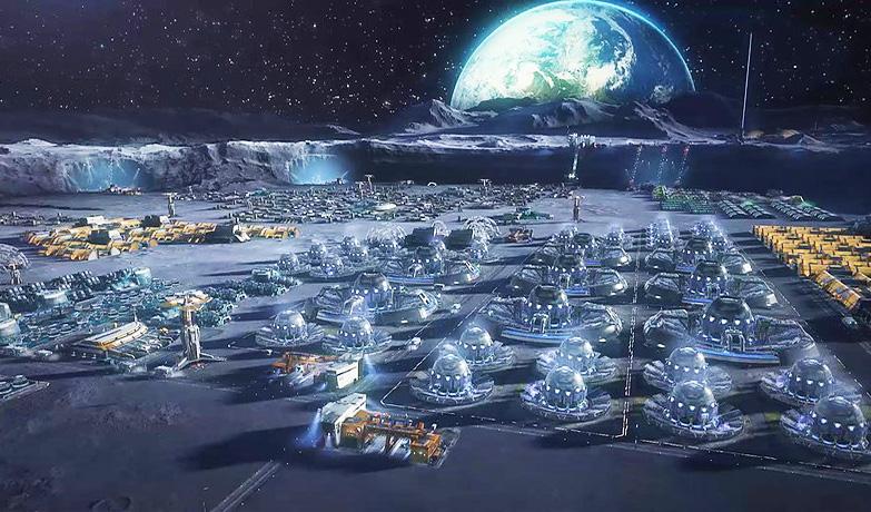 Чьи боевые базы обнаруженны на обратной стороне Луны и чем это угрожает Земле