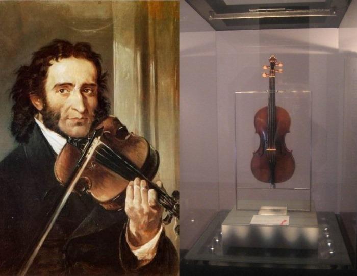 *Вдова Паганини* – так называют любимую скрипку маэстро работы Гварнери
