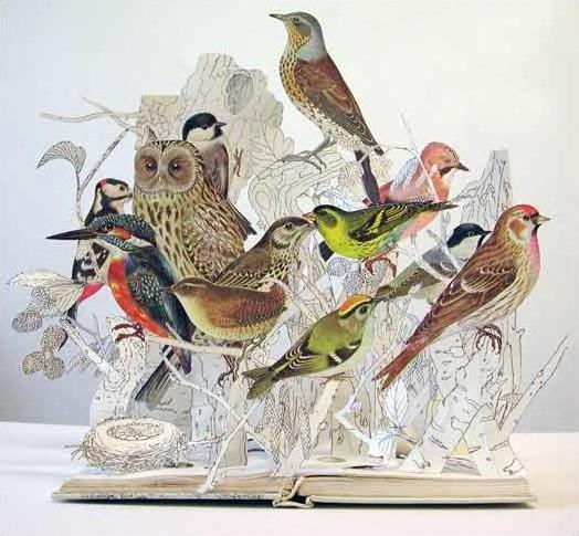 Необыкновенные бумажные скульптуры!