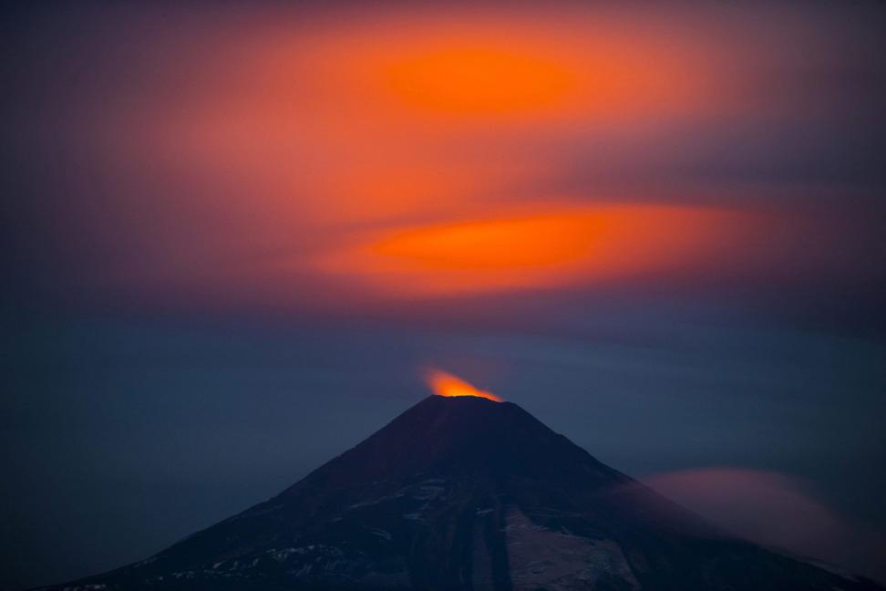 На грани извержения