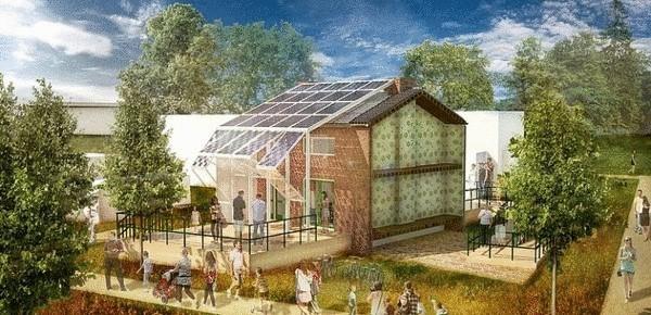 Дома с максимальным КПД для получения солнечной энергии