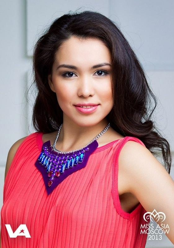Самая красивая девушка туркменка России - Мадина Ширмамедова. фото