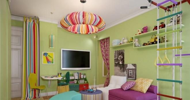 Люстра в детскую комнату - как подобрать лучший вариант для ребенка?