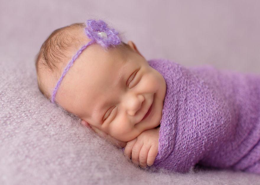 Улыбки малышей