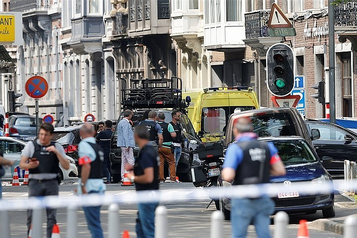 Ответственность за атаку в бельгийском Льеже взяло на себя ИГ*