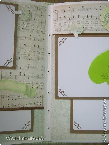 Мастер-класс Скрапбукинг День рождения Аппликация МК Этапы создания скрап альбома от А до Я  Бумага фото 84