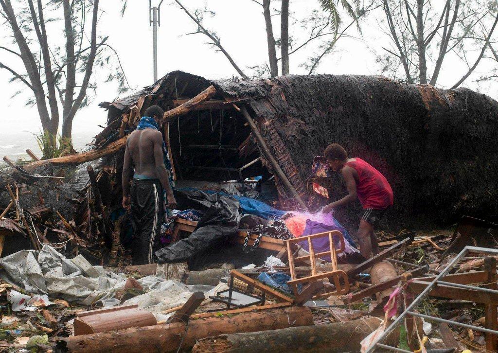 Циклон Пэм ударил по Вануату-7