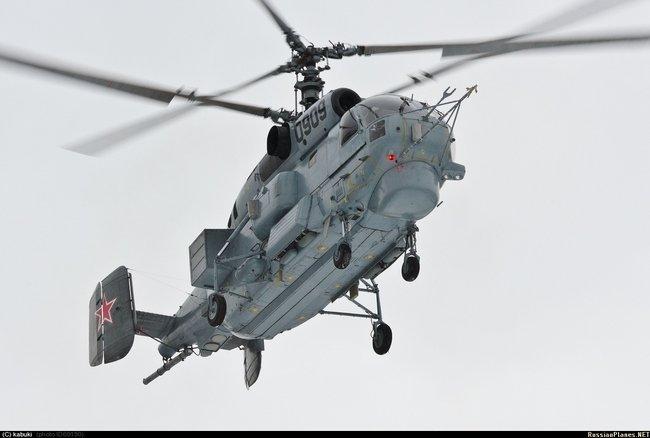 Модернизированный вертолет Ка-27м проходит испытания на Северном флоте