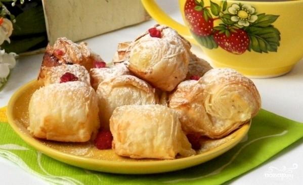 """Пирожки """"Наполеон"""" - роскошные пирожные из простых продуктов и очень быстро"""