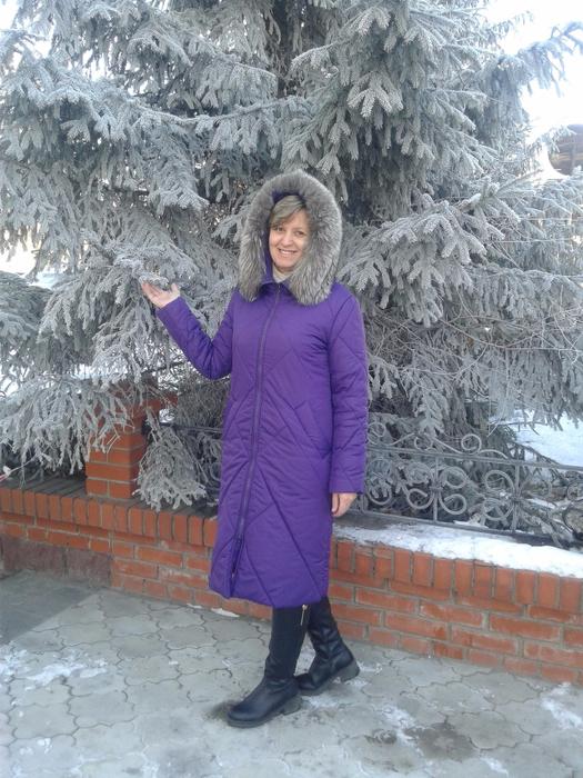 Шъём стеганое пальто на утеплителе