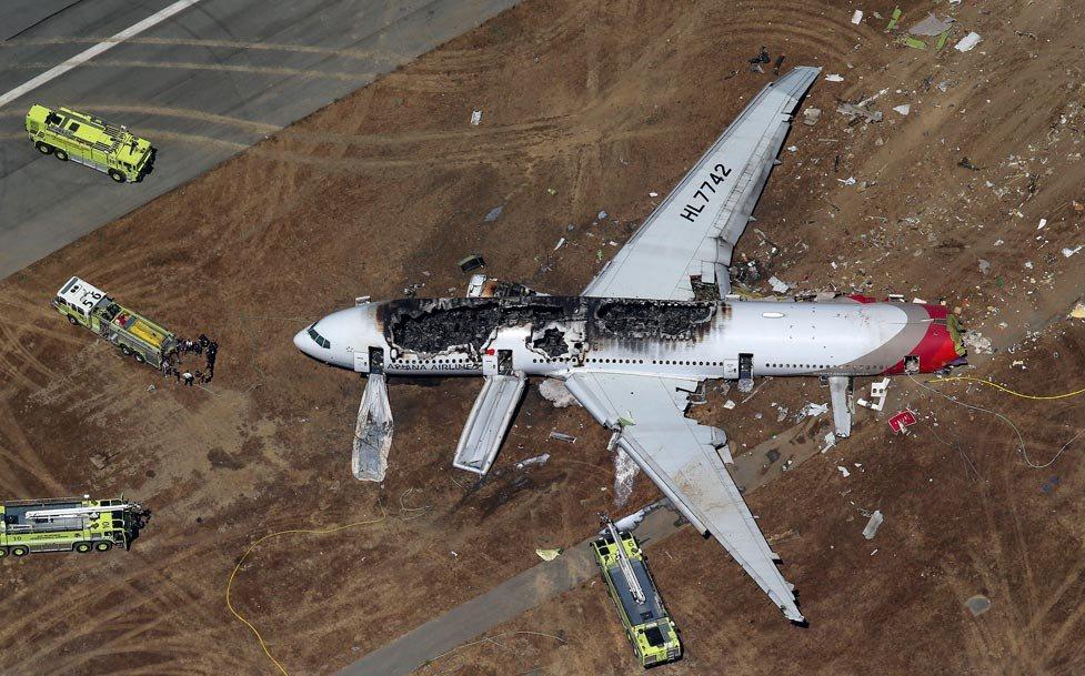 Кадры новостей о взбившем самолете турками