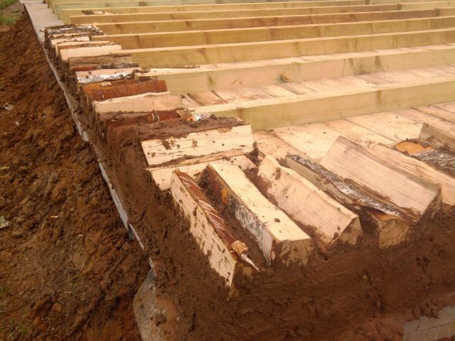 Как сделать пол из глины и песка
