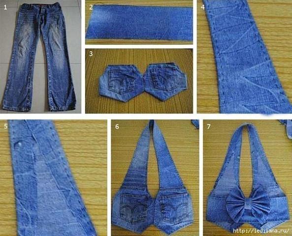 Жилет из джинсов своими руками все буде добре
