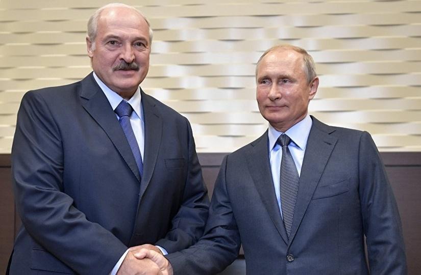 Путин оценил усилия Минска и Москвы в развитии сотрудничества