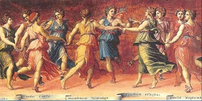 Танец аулетридес.