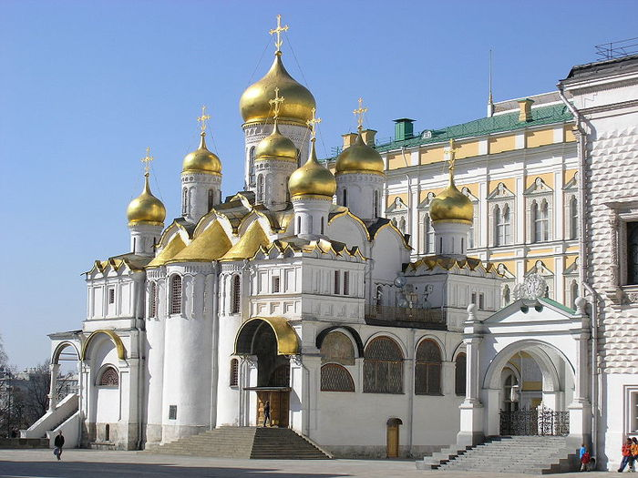 На Благовещение Патриарх служит Литургию в Кремле