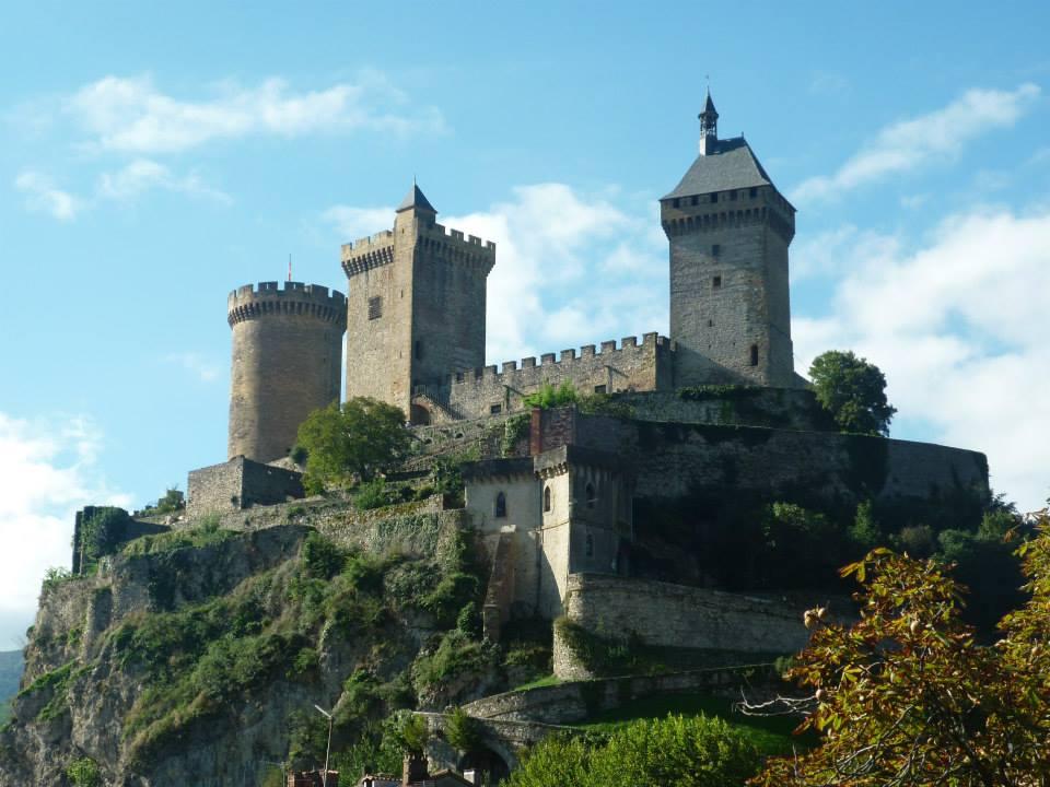 Замок Фуа во Франции