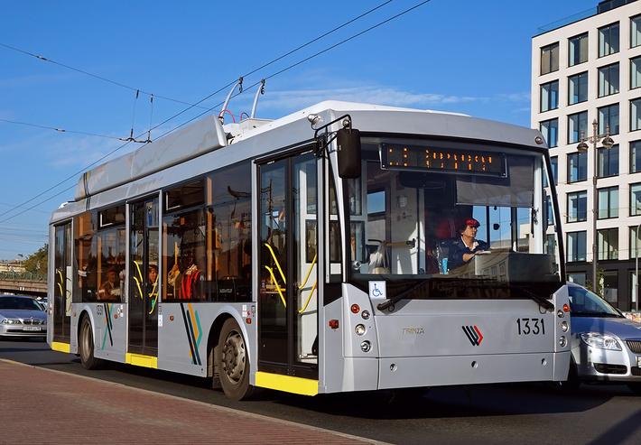 «Тролза Маркет» поставит более 100 новых троллейбусов на улицы Петербурга