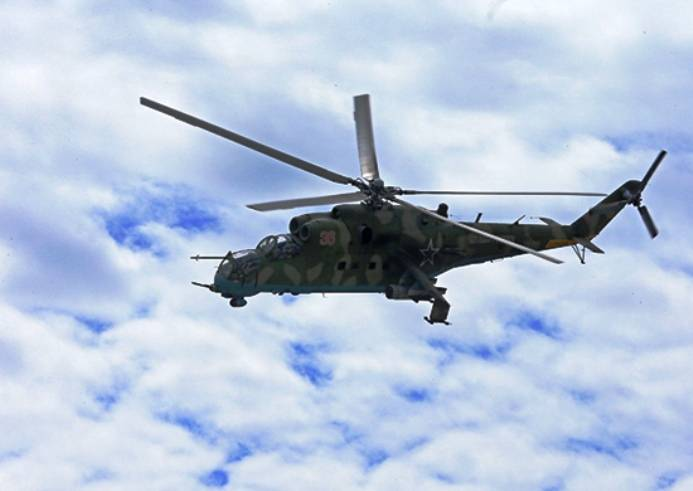 Вертолетчики Балтфлота под К…