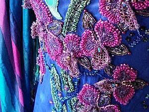 Мастер-класс: вышивка платья бисером. Часть первая: организация рабочего места