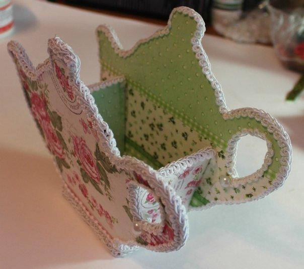 Поделка из чайных пакетиков своими руками