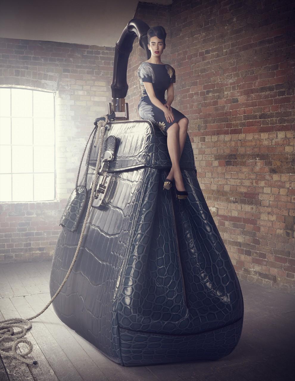 Креативный взгляд на модные сумки