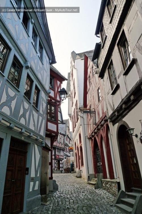 Лимбург-на-Лане, старинные улочки