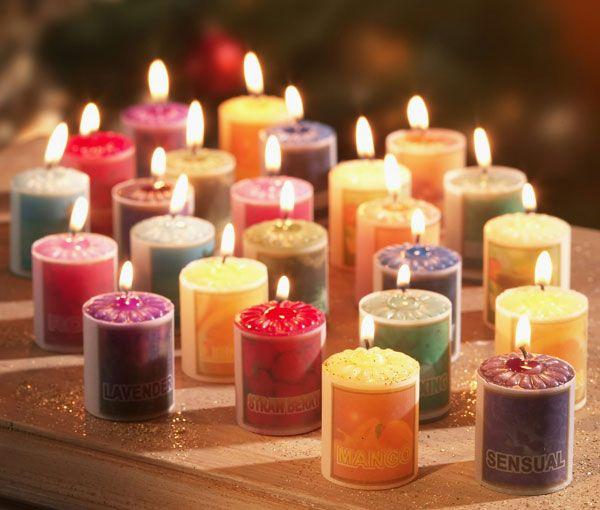 Как сделать аромасвечи