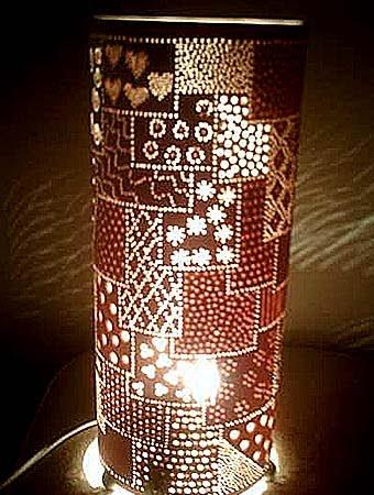 Дизайн светильников своими рукам