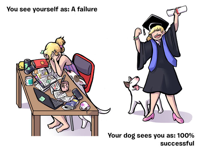 How You See Yourself Vs How Your Dog Sees You
