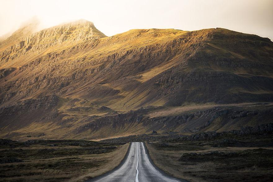 Бескрайние дороги  исландия, путешествие