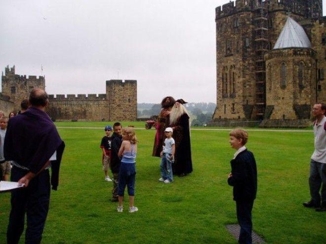 Тематические экскурсии в замке Алник Англия