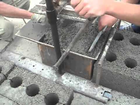 Как в домашних условиях сделать блоки для строительства