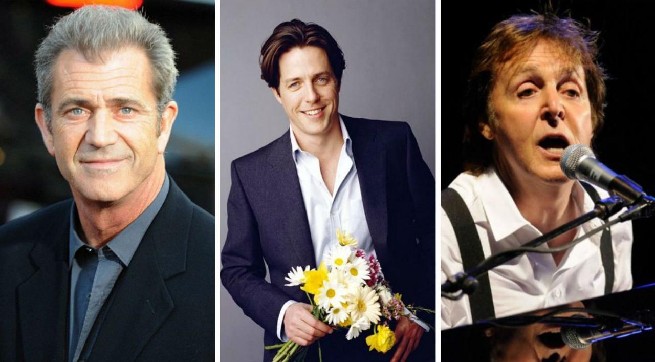 15 знаменитостей, которые стали отцами после 50
