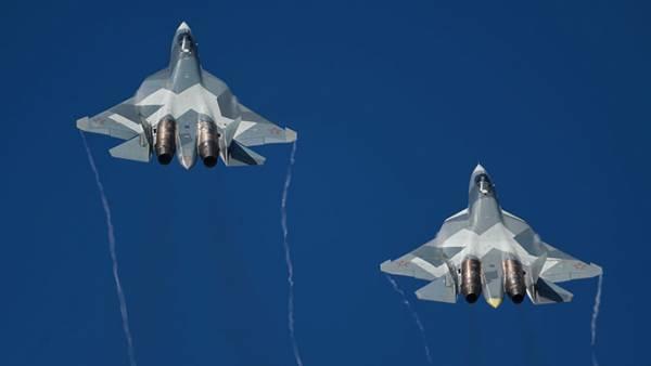 Первые истребители пятого поколения Су-57 скоро заступят на боевое дежурство