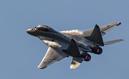 МиГ-35 в индийском небе заше…