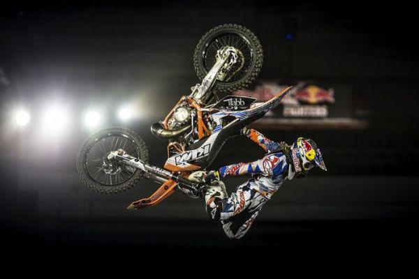 Леви Шервуд (NZL) Red Bull X-Fighters 2015