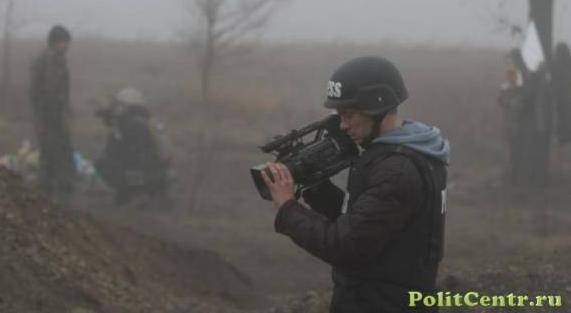 Украинские силовики открыли огонь по российским журналистам