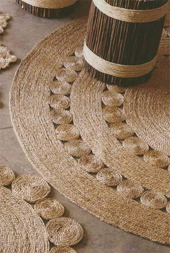 коврики из веревки
