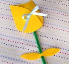 Как делать открытки на день рождения маПоделка