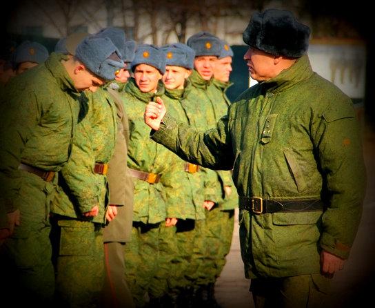 Как офицер вместо солдата столб отчитал