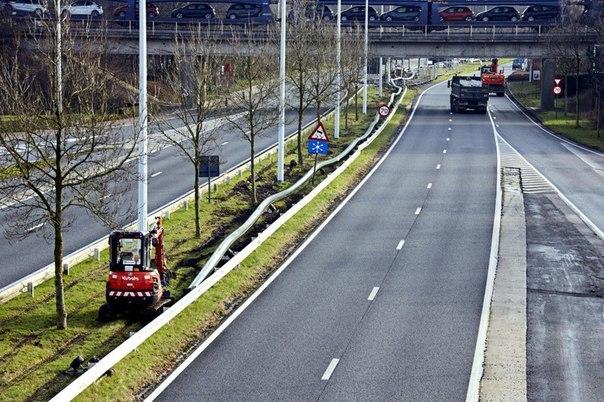 Чтобы уменьшить пробки, в Бельгии построили пивопровод